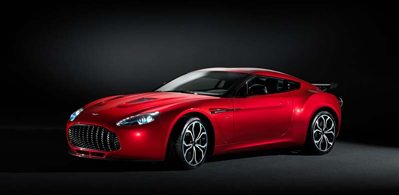 The New V8 2012 Vantage Aston Martin